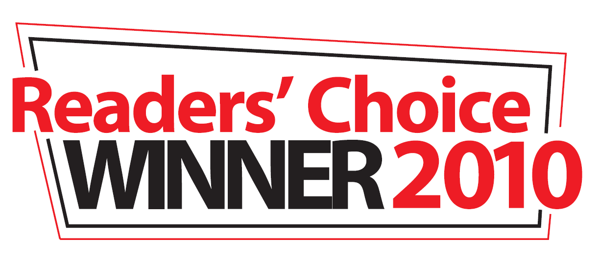 readers choice award winner